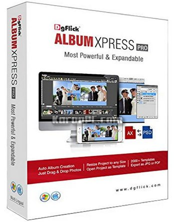 DgFlick Album Xpress PRO 12 Free Download