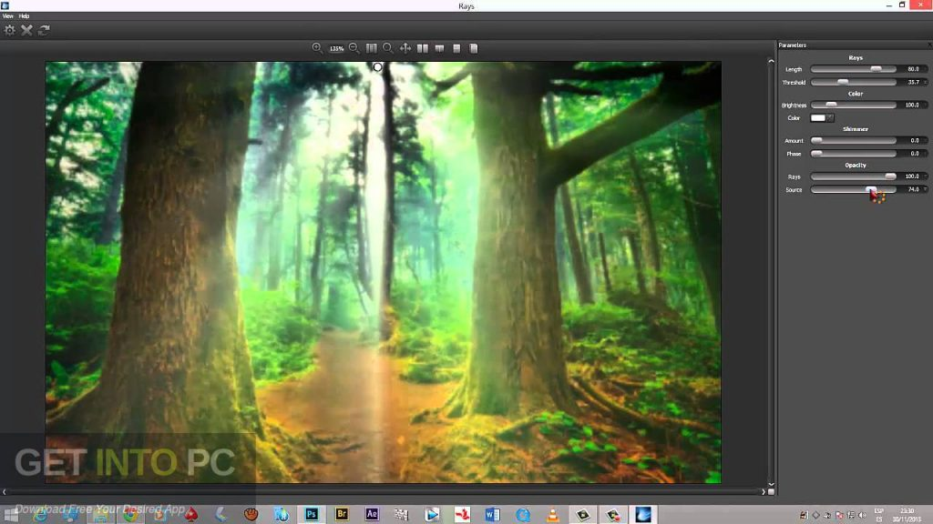 Digital Film tools Rays Plugin Latest Version Download-GetintoPC.com