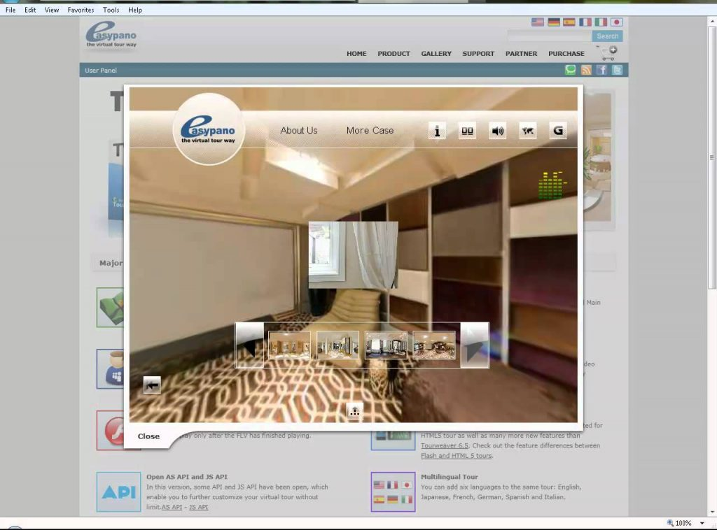 Which software to make a virtual tour