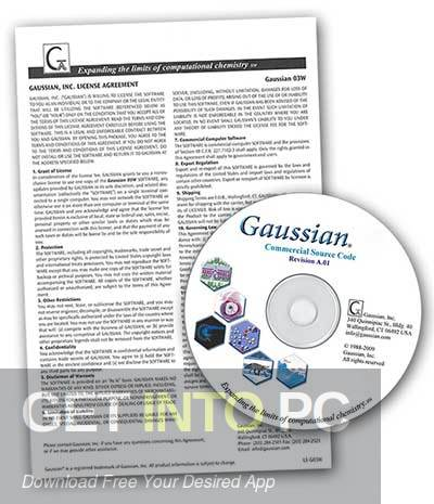Gaussian 09W 9.5 Revision D.01 Free Download-GetintoPC.com