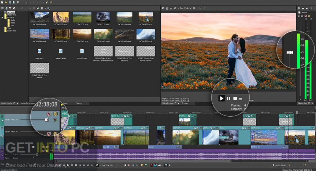MAGIX VEGAS Pro 16 Direct Link Download-GetintoPC.com
