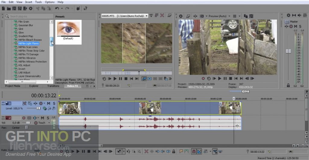 MAGIX (SONY) VEGAS Pro 16 Free Download