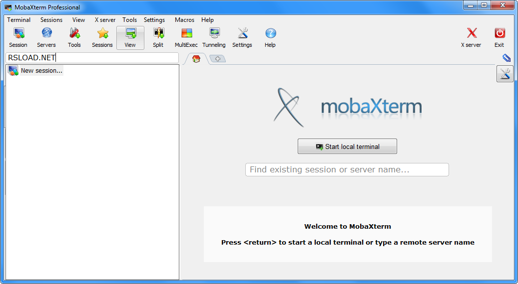 MobaXterm Professional Edition 10.8 Offline Installer Download