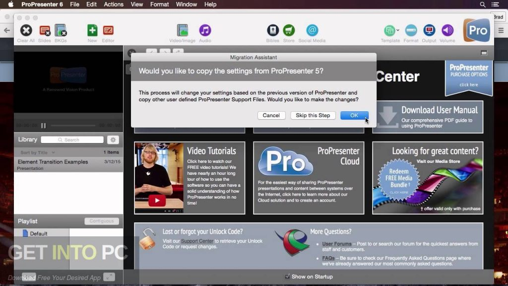 ProPresenter 6.0.3.8 Direct Link Download-GetintoPC.com