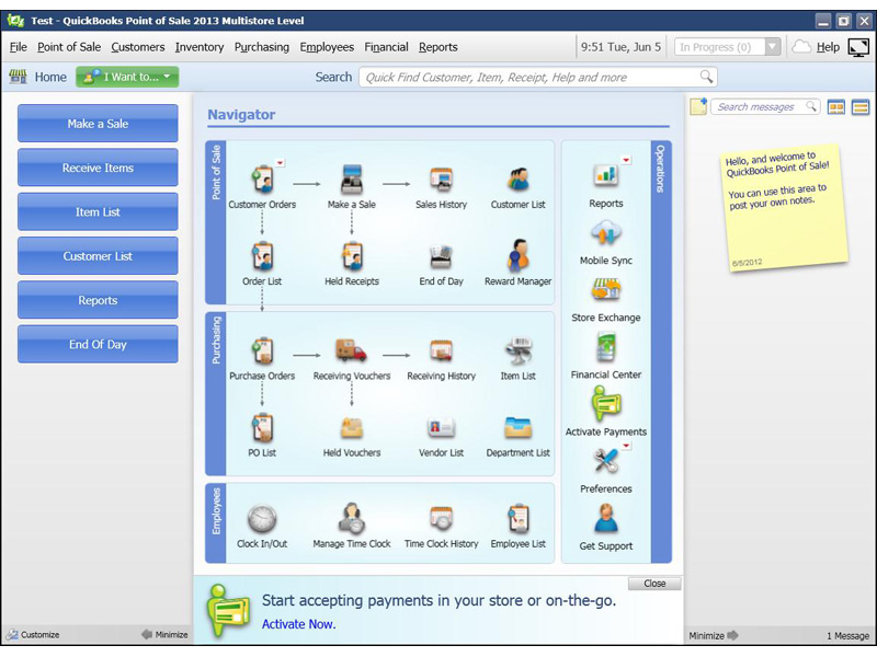 Quickbooks POS v11 2013 Multistore Direct Link Download