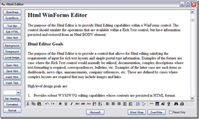 Spicelogic .NET WinForms HTML Editor Control 7.4.11.0 Offline Installer Download
