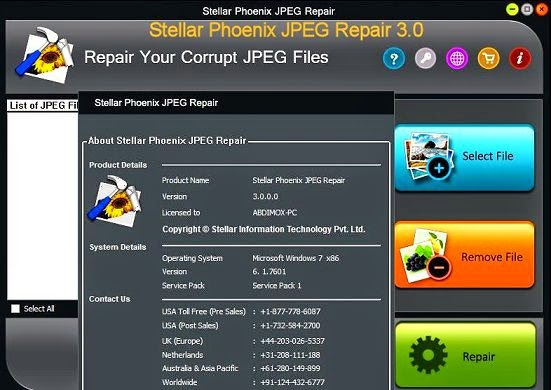 Stellar Phoenix JPEG Repair Offline Installer Download