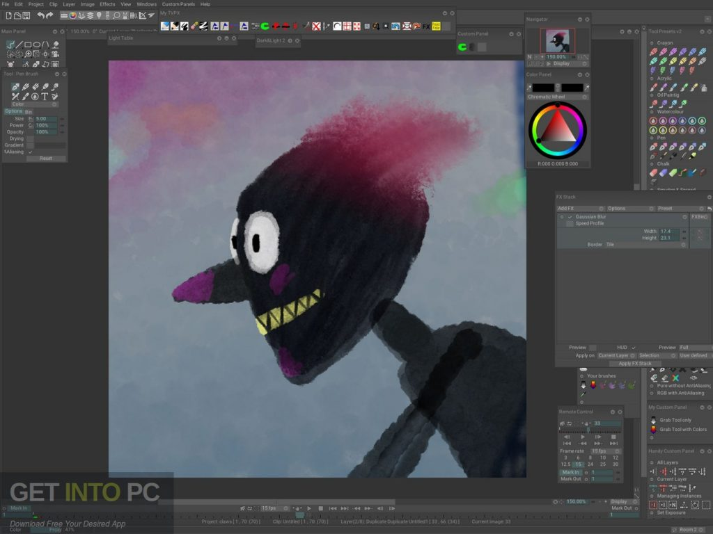 TVPaint Animation 10 Pro Direct Link DOwnload-GetintoPC.com