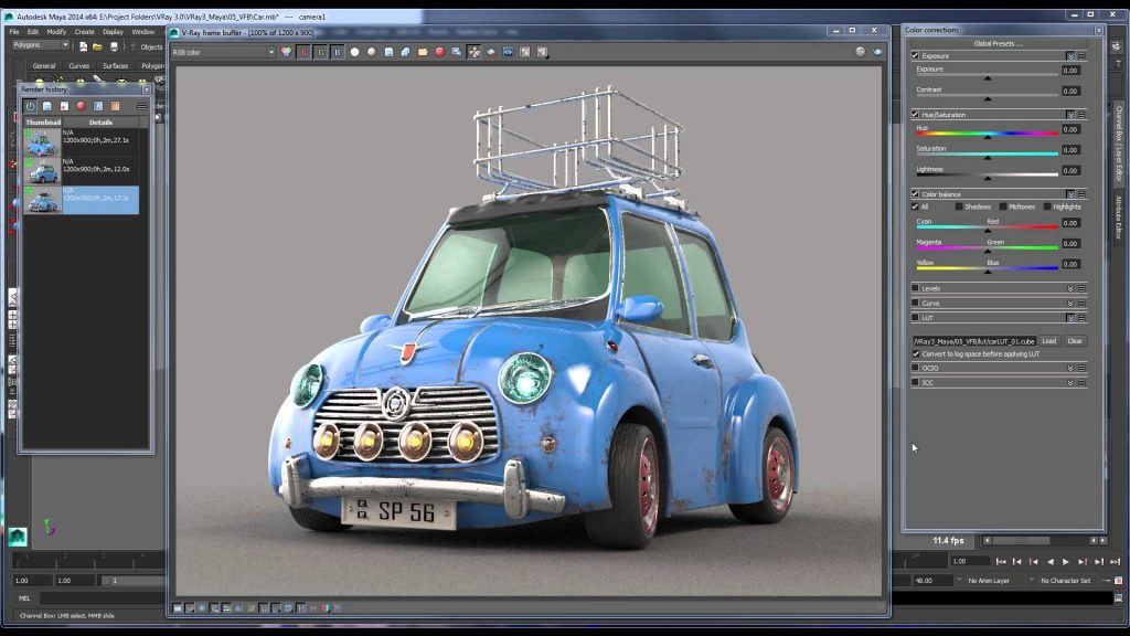 V-Ray For Maya 2014 Offline Installer Download