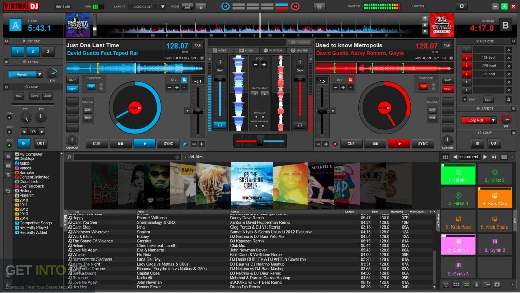 Virtual DJ PRO 8 Direct Link Download-GetintoPC.com