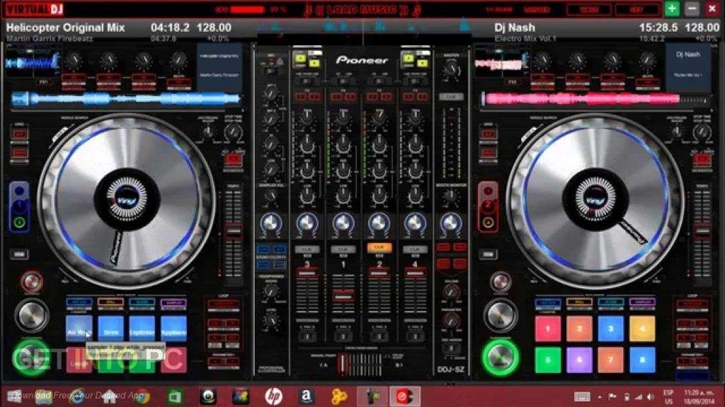 Virtual DJ PRO 8 Offline Installer Download-GetintoPC.com