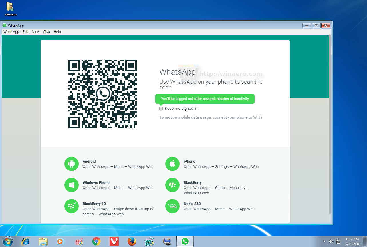 Free download whatsapp for my laptop windows 10