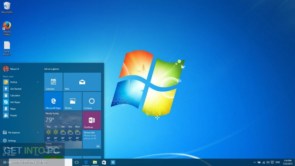 Windows 7 AIl in One August 2018 Offline Installer Download-GetintoPC.com