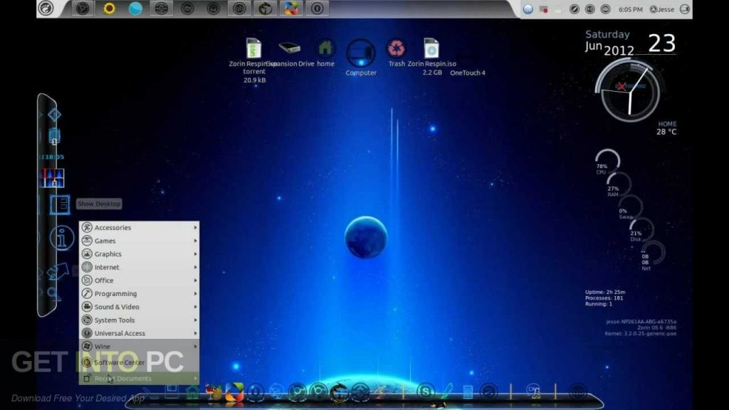 Zorin OS 12.4 ISO Direct Link Download-GetintoPC.com