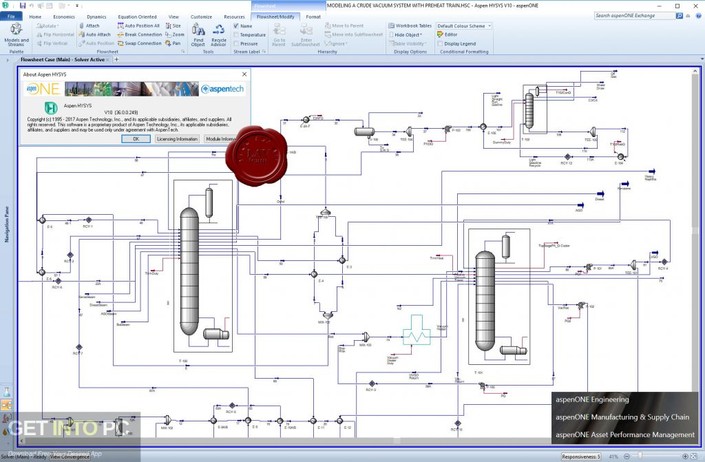 aspenONE Engineering Suite 10 Latest Version Download-GetintoPC.com