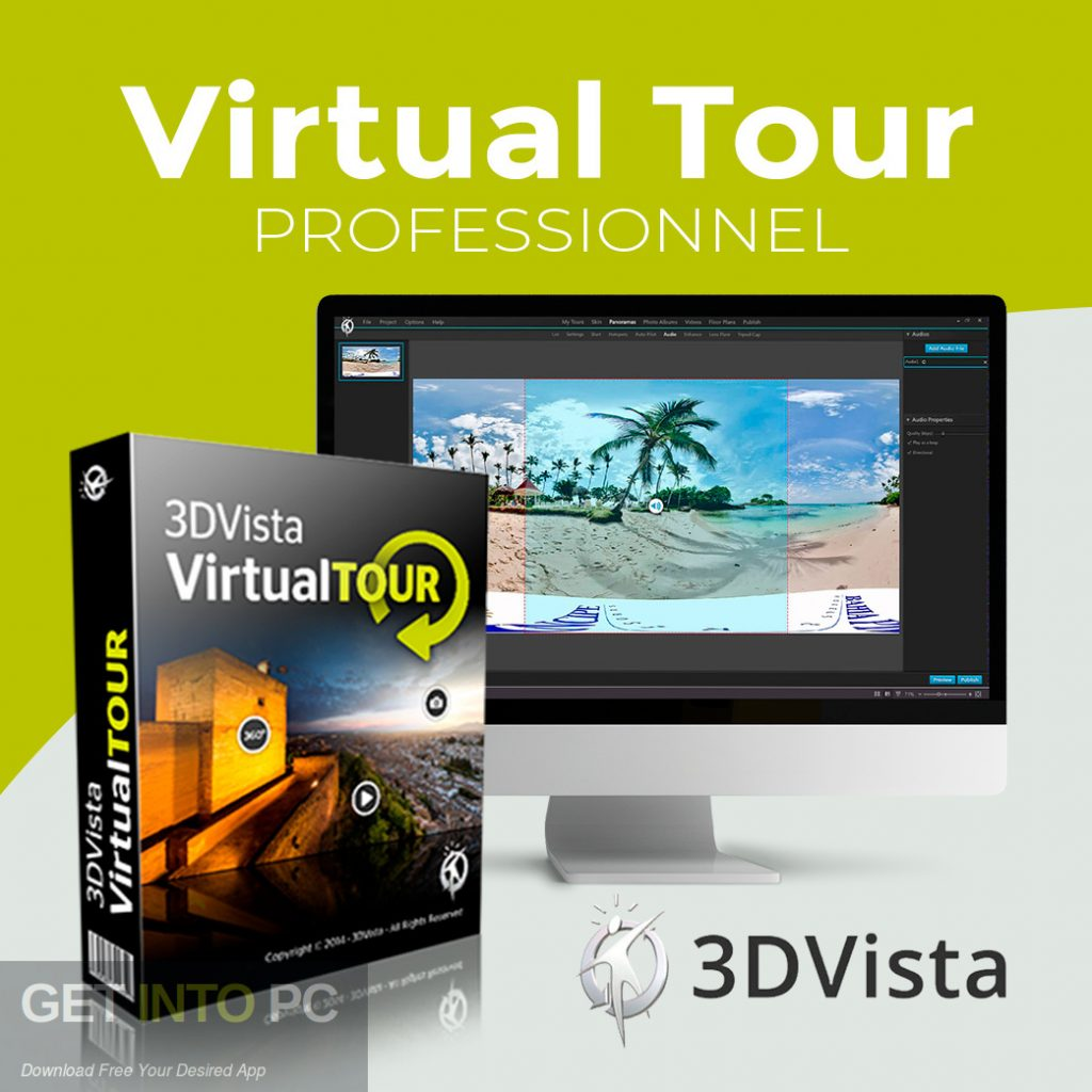 3DVista Virtual Tour Suite 2018 Free Download-GetintoPC.com