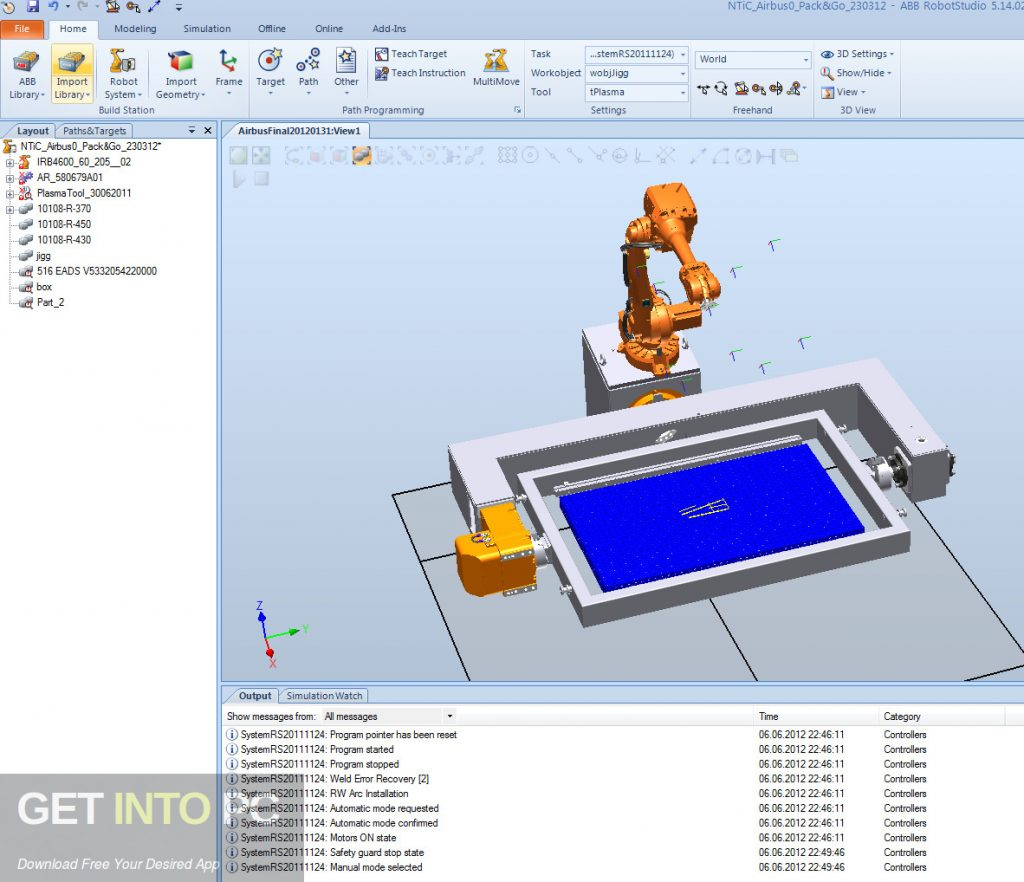ABB RobotStudio (free version) download for PC