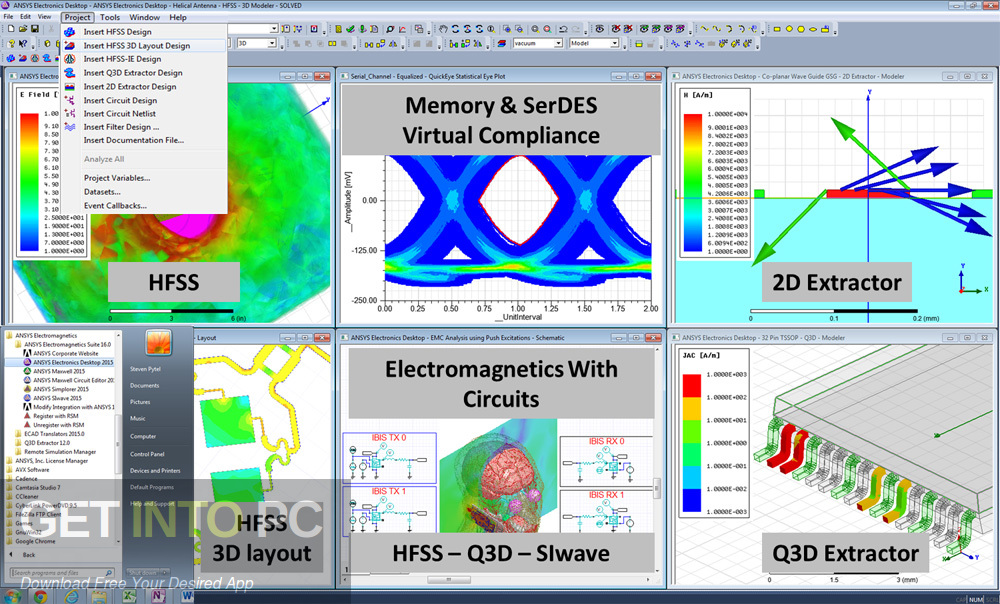 ANSYS Electronics Suite 19.2 Direct Link Download-GetintoPC.com