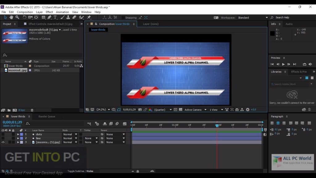Adobe After Effects CC 2018 v15.1 Offline Installer Download-GetintoPC.com
