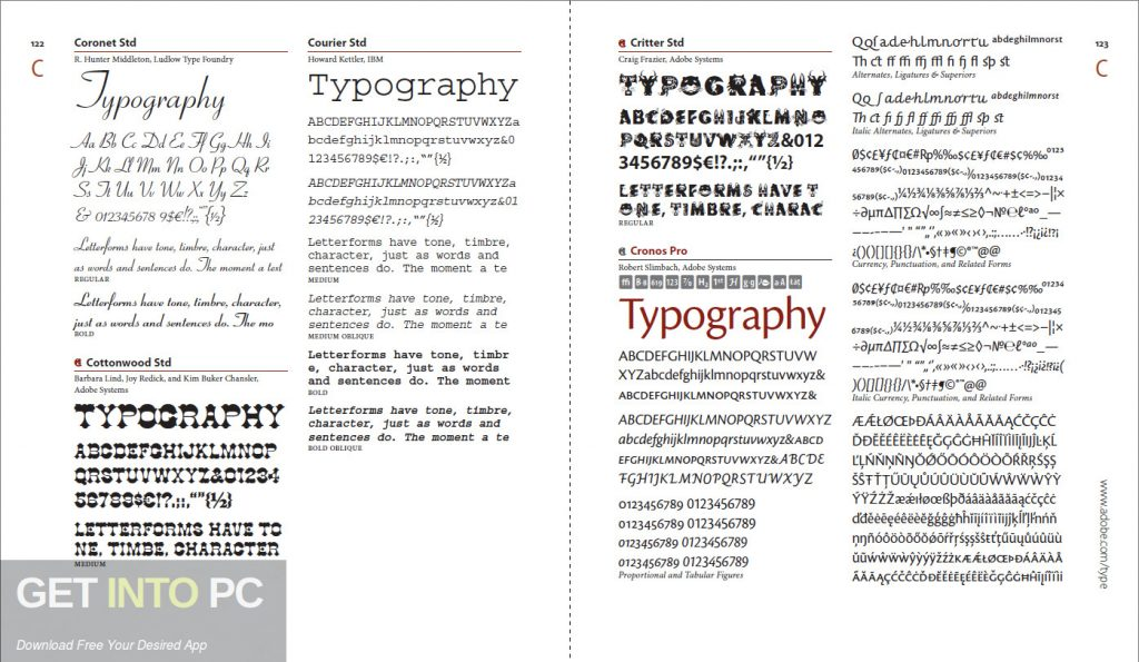 Adobe Free Fonts - Mentale resonanz methode