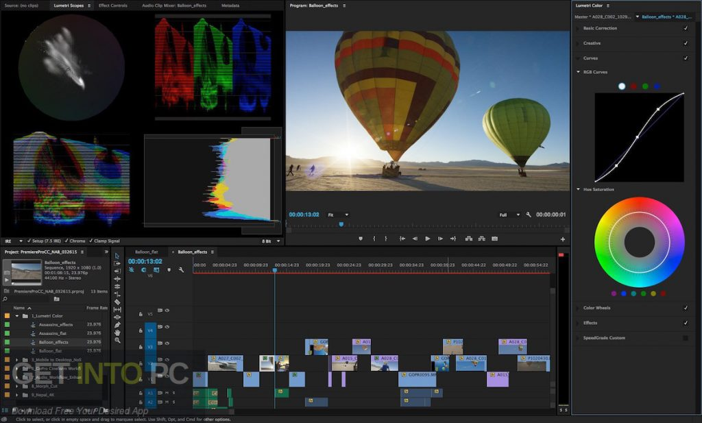 Adobe Premiere Pro CC 2018 v12.1 Direct Link Download-GetintoPC.com