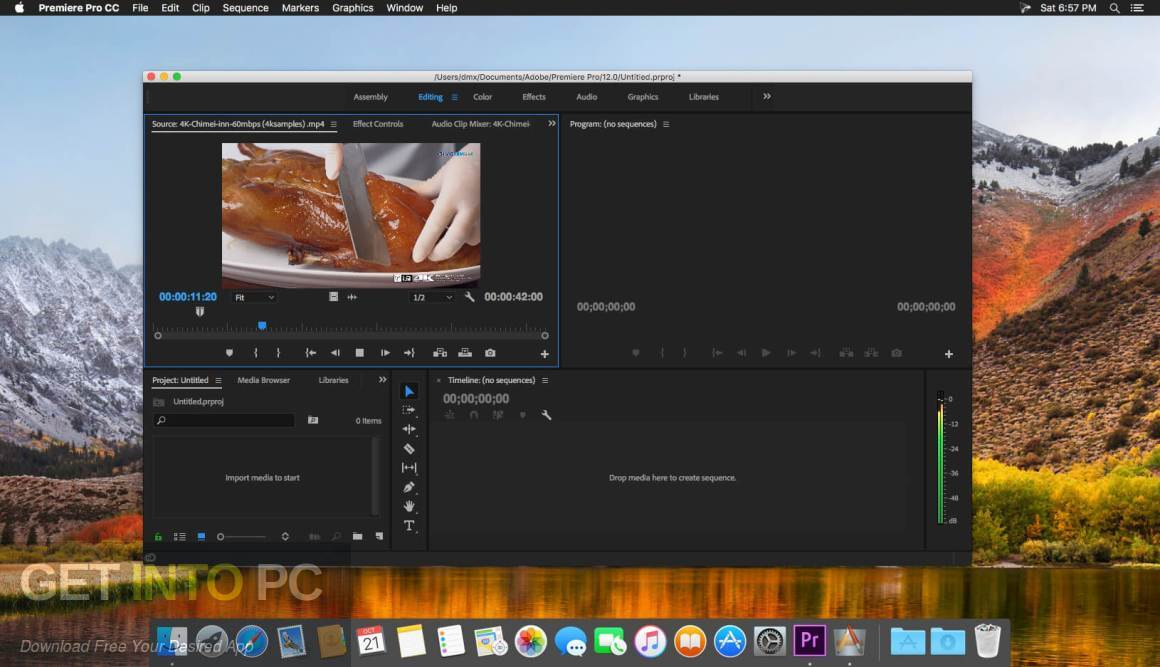 Adobe Premiere Pro CC 2018 v12.1 Latest Version Download-GetintoPC.com