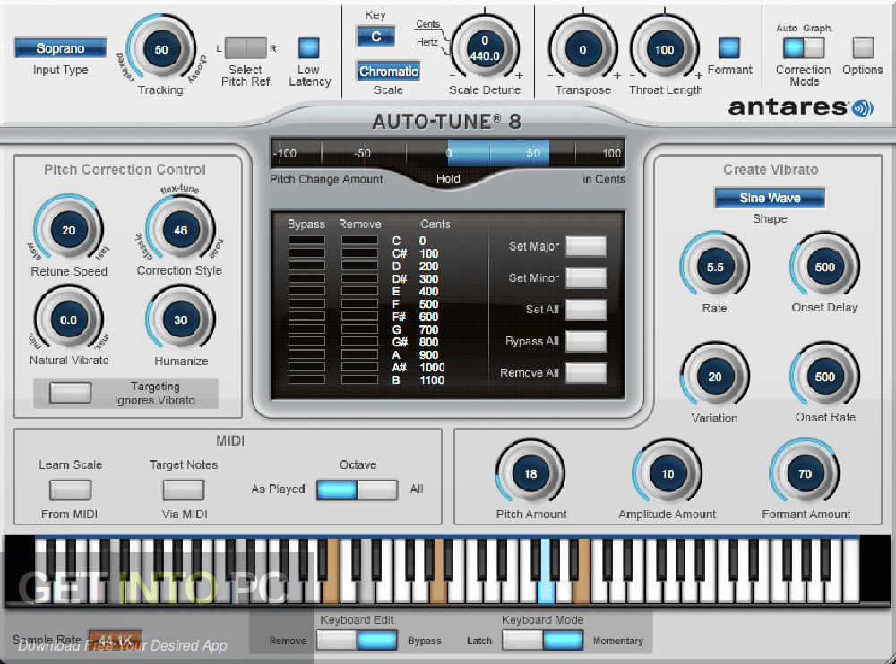 Antares Auto-Tune v8.1.1 Direct Link Download-GetintoPC.com