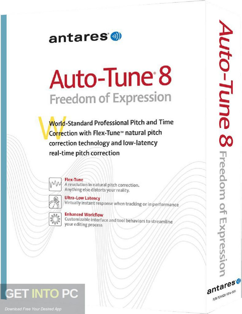 Antares Auto-Tune v8.1.1 Free Download-GetintoPC.com