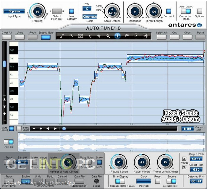 Antares Auto-Tune v8.1.1 Latest Version Download-GetintoPC.com