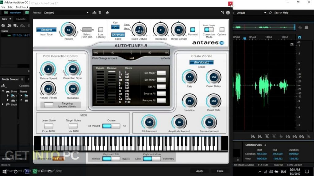 Antares Auto-Tune v8.1.1 Offline Installer Download-GetintoPC.com