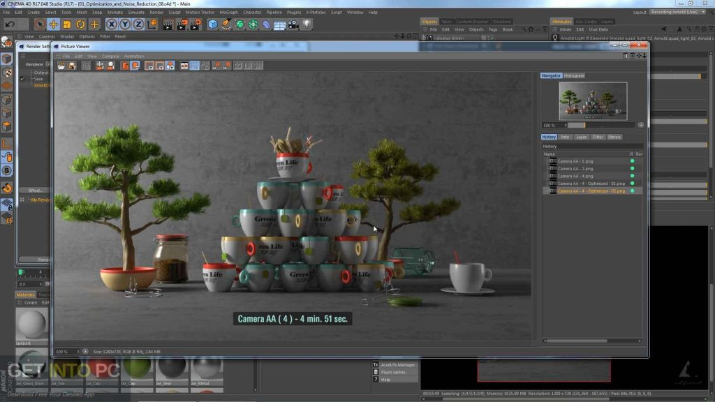 Arnold for Cinema 4D Direct Link Download-GetintoPC.com