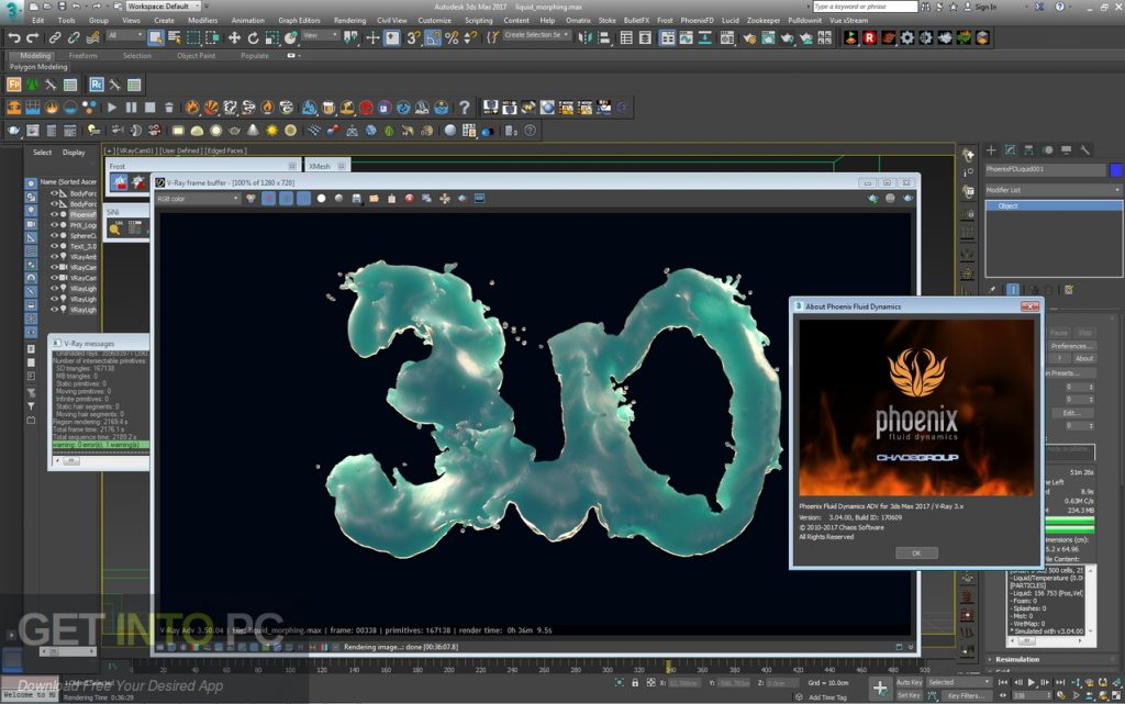 Autodesk 3Ds Max 2018 With V-Ray Phoenix FD Portable Latest Version Download-GetintoPC.com