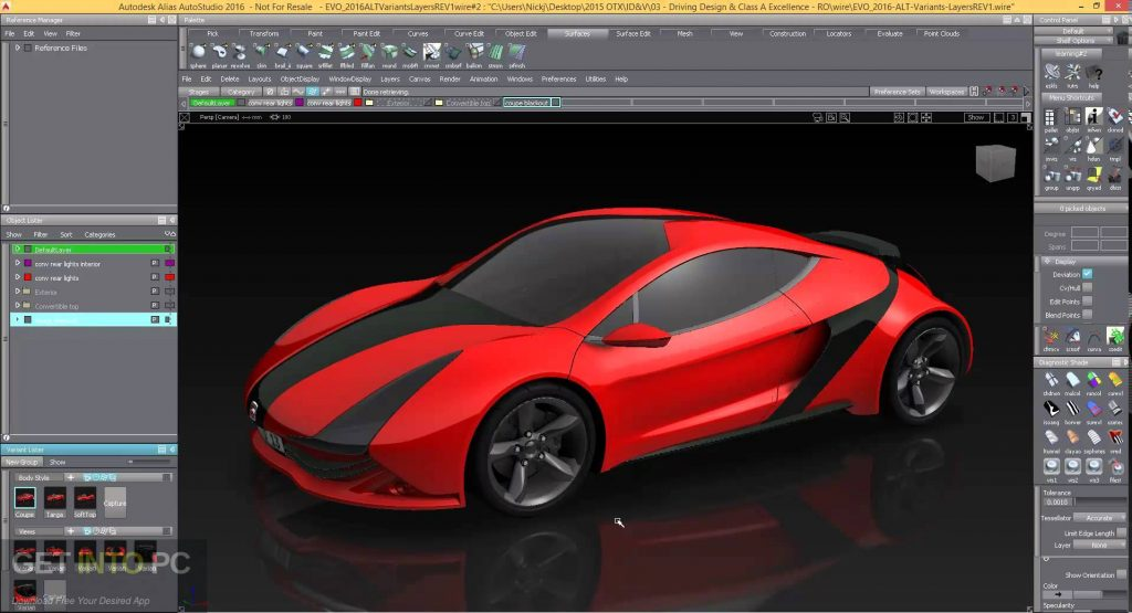 Autodesk Alias AutoStudio 2016 Direct Link Download-GetintoPC.com