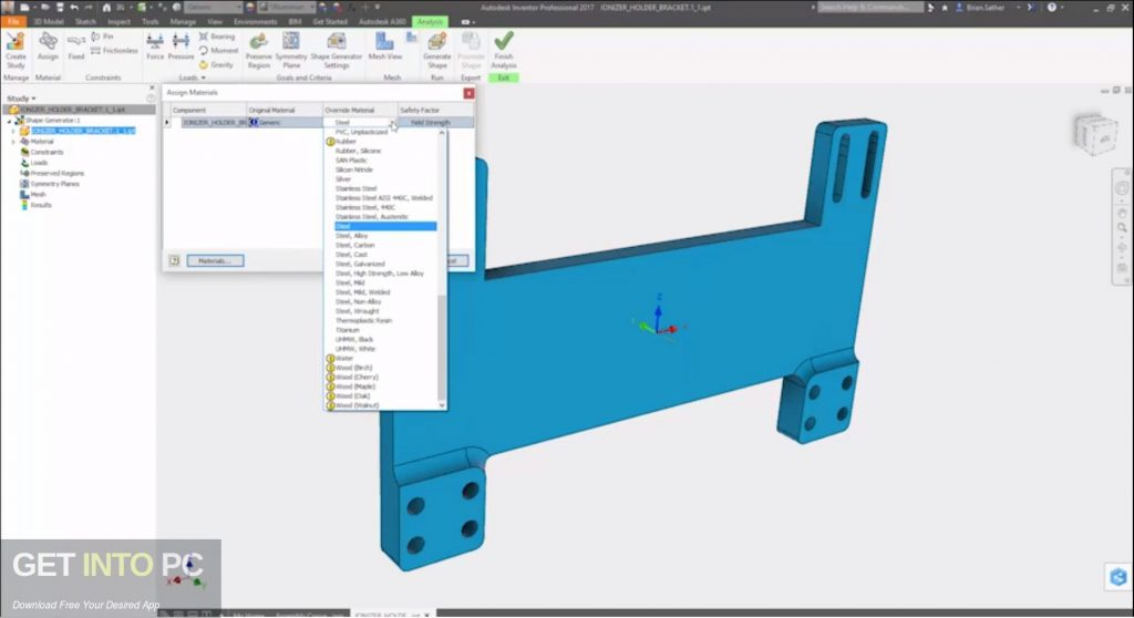 Autodesk Inventor Pro 2019 Latest Version Download-GetintoPC.com