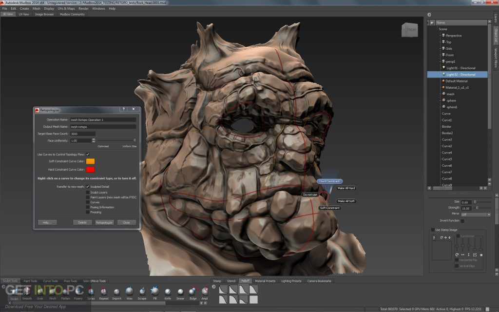 Autodesk Mudbox 2018.2 Latest Version Download-GetintoPC.com