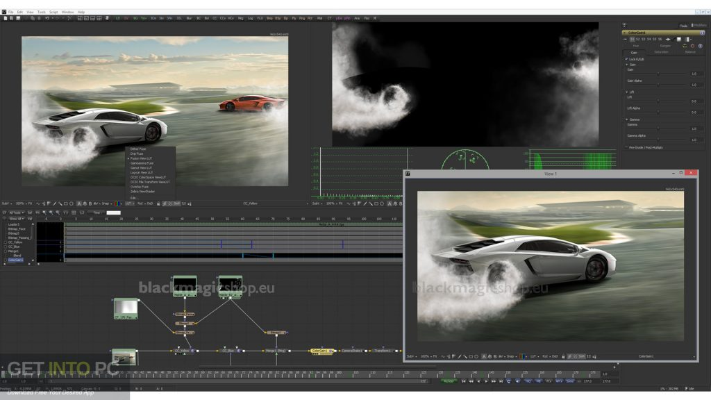 Blackmagic Fusion Studio 9 Direct Link Download-GetintoPC.com