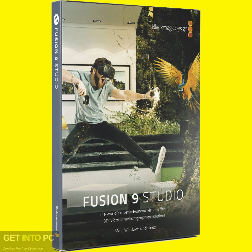 Blackmagic Fusion Studio 9 Free Download