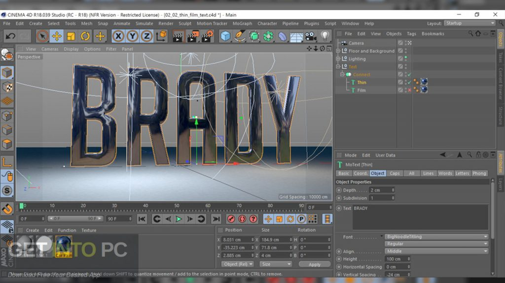 Cinema 4D Studio R20 Latest Version Download-GetintoPC.com