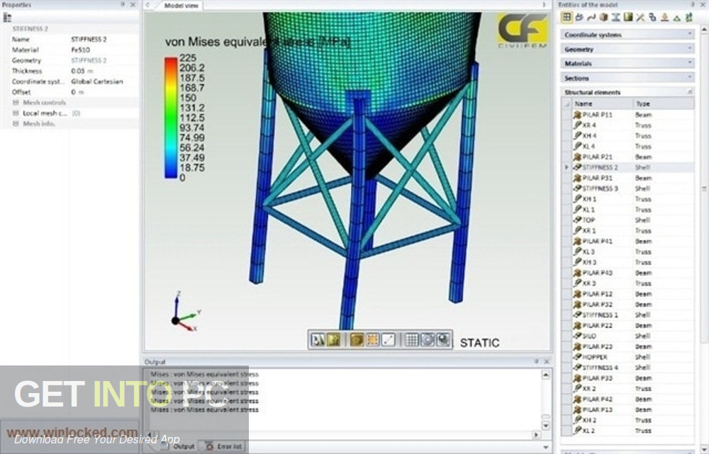 CivilFEM v12 for ANSYS Latest Version Download-GetintoPC.com