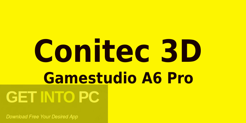 Conitec 3D Gamestudio A6 Pro Free Download-GetintoPC.com