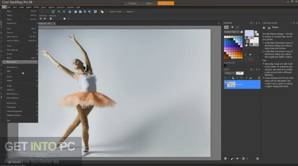 Corel PaintShop Pro 2019 Ultimate Direct Link Download-GetintoPC.com