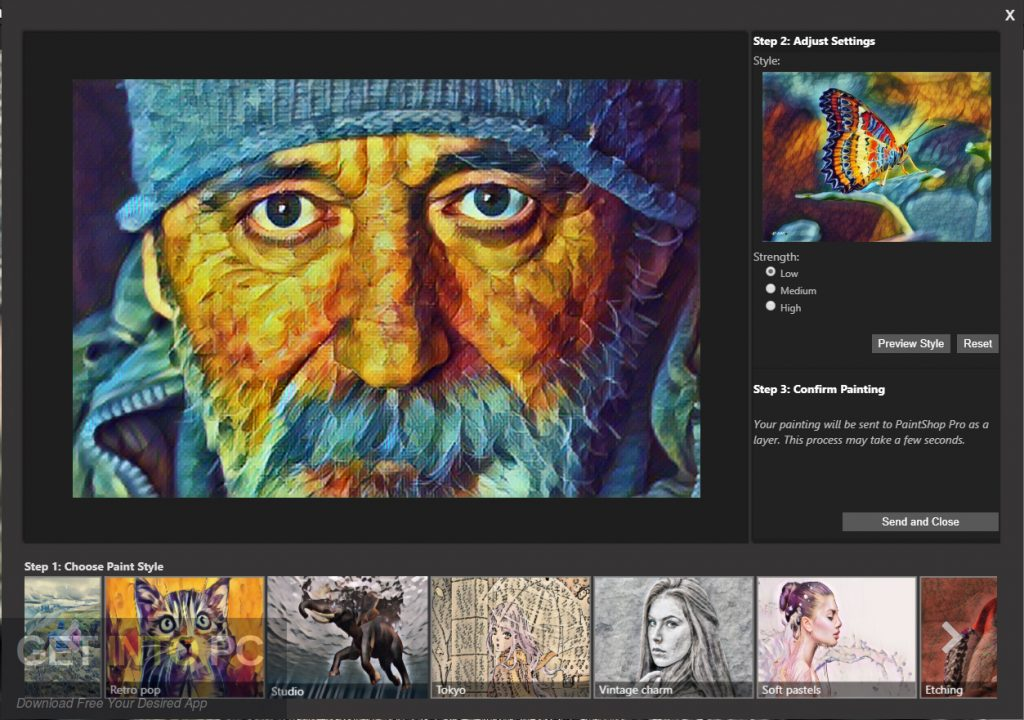 Corel PaintShop Pro 2019 Ultimate Latest Version Download-GetintoPC.com