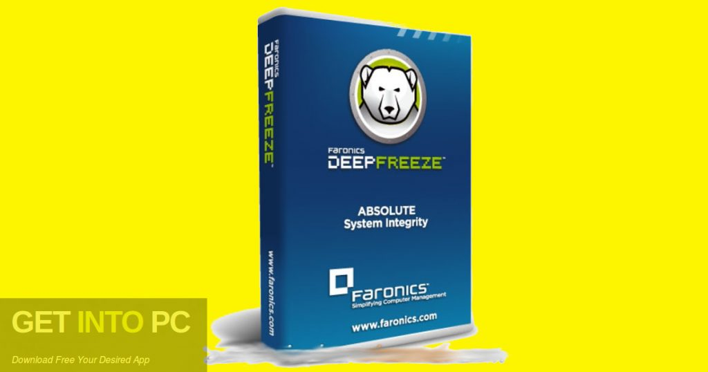 Deep Freeze Standard 8.53 2018 Free Download-GetintoPC.com