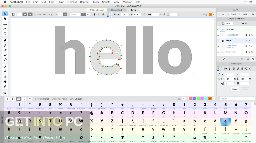 FontLab VI 6 Offline Installer Download-GetintoPC.com