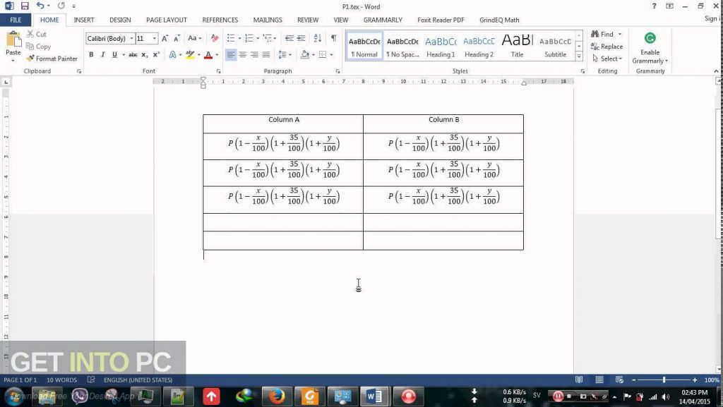 GrindEQ Math Utilities 2015 Direct Link Download-GetintoPC.com