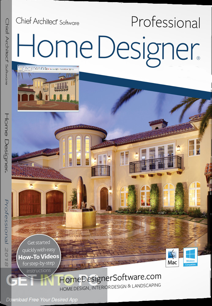 Home Designer Professional 2019 Free Download GetintoPC.com