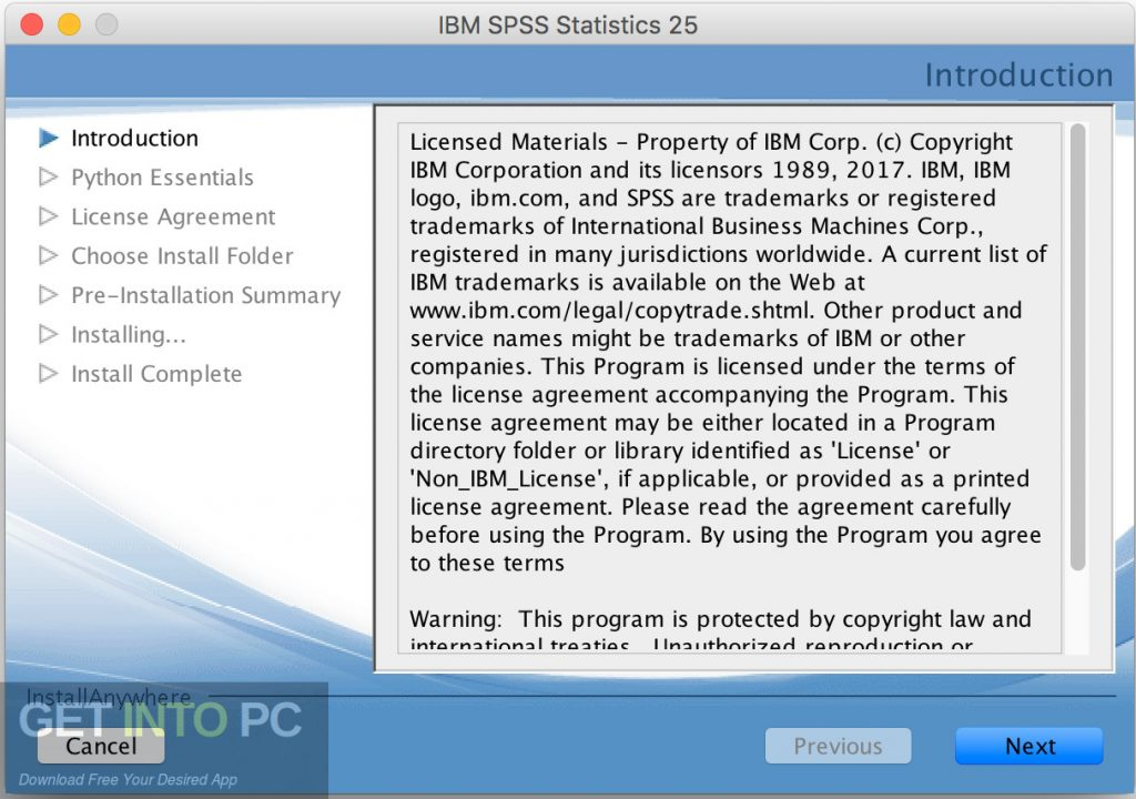 IBM SPSS Statistics 25 for Mac Direct Link Download-GetintoPC.com