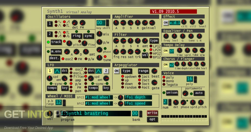 Ichiro Toda - Synth1 Plugin Offline Installer Download-GetintoPC.com