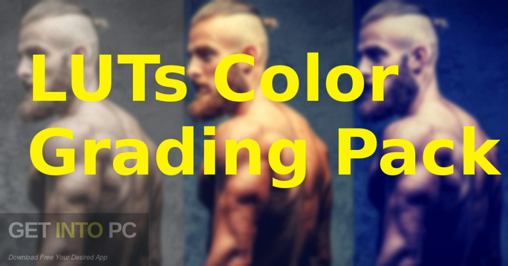 LUTs Color Grading Pack Free Download-GetintoPC.com