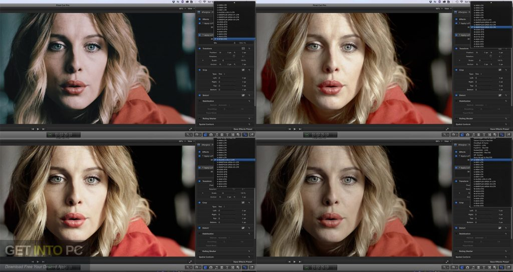 LUTs Color Grading Pack Latest Version Download-GetintoPC.com